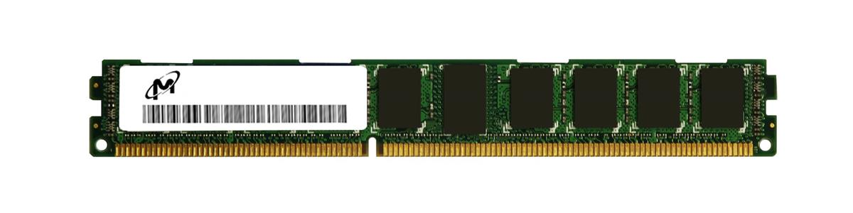 MT18KDF25672PZ-1G4F1 Micron 2GB PC3-10600 DDR3-1333MHz ECC Registered CL9 240-Pin DIMM 1.35V Low Voltage Dual Rank Memory Module