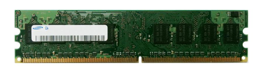 Samsung 256MB PC2-3200 DDR2-400MHz non-ECC Unbuffered CL3 240-Pin DIMM Single Rank Memory Module Mfr P/N M378T3354BZ0-CCC