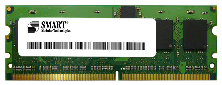 SG572163FG8RWDG Smart Modular 128MB PC2-4200 DDR2-533MHz ECC Registered CL4 244-Pin Mini-DIMM Memory Module