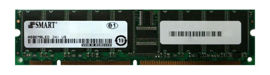 Smart Modular 1GB PC133 133MHz ECC Unbuffered CL3 168-Pin DIMM Memory Module Mfr P/N SM572288578D03R