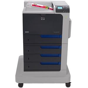 HP Color LaserJet CP4525XH Laser Printer Color Plain Paper Print Desktop 42 ppm Mono / 42 ppm Color Print 2100 sheets Input Automatic Duplex Print Gigabit Ethernet USB (Refurbished) Mfr P/N CC495A