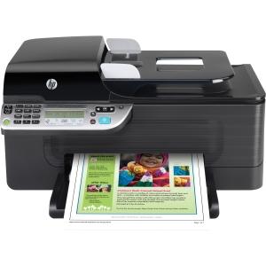 HP 4500 OfficeJet All-in-One Color InkJet Printer 28 Ppm Black 22 Ppm Color Ethernet Usb 192MHz 32 Mb Wireless (Refurbished) Mfr P/N CN547A