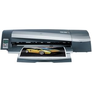 HP DesignJet 130R Inkjet Large Format Printer 625mm Color 240 Second Color 2400 x 1200 dpi USB Floor Standing Supported (Refurbished) Mfr P/N C7791H