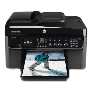 HP PhotoSmart Premium Fax C410A Multifunction Printer Color 34 ppm Mono 32 ppm Color 63 Second Photo 9600 x 2400 dpi Printer , Scanner, Copier, Fax (Refurbished) Mfr P/N CQ521A