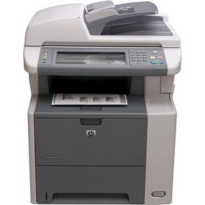 HP LaserJet M3027X Multifunction Printer Monochrome 25 ppm Mono 1200 x 1200 dpi Fax, Copier, Printer, Scanner (Refurbished) Mfr P/N CB417A