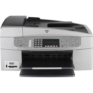 HP OfficeJet 6310 All-in-One Multifunction Color InkJet Printer Print/Copy/Scan/Fax (Refurbished) Mfr P/N Q8061A