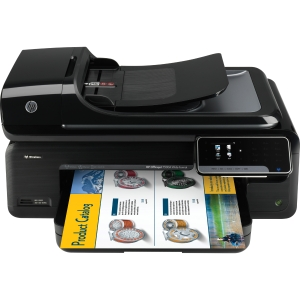 HP OfficeJet 7500A All-in-One (Fax / Copy / Print / Scan) Color InkJet Printer (Refurbished) Mfr P/N C9309A
