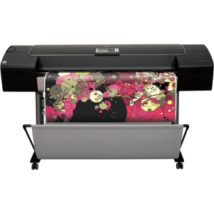 HP DesignJet Z3200PS PostScript InkJet Large Format Printer 44 Color 182.9 ft/hr Color 2400 x 1200 dpi Fast Ethernet USB Floor Standing Supported (Refurbished) Mfr P/N Q6721B