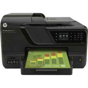 HP OfficeJet Pro 8600 All-in-One Multifunction Color InkJet Printer Print/Copy/Scan/Fax (Refurbished) Mfr P/N CM749A