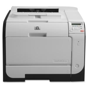 HP Color LaserJet Pro 400 M451dn Printer Color Plain Paper Print Desktop 21-ppm(Mono) 21-ppm(Color) Print 300-Sheets Input Automatic Duplex Print LCD Fast Ethernet USB (Refurbished) Mfr P/N CE957A