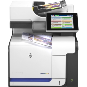 HP Color LaserJet 500 M575DN Laser Multifunction Printer Color Plain Paper Print Desktop Printer , Copier, Scanner 31 ppm Mono/31 ppm Color Print 1200 x 1200 dpi Print 31 cpm Mono/31 cpm Color Copy Touchscreen LCD 600 dpi Optical Scan Automatic Duplex Print 350 sheets Input Gigabit Ethernet USB (Refurbished) Mfr P/N CD644A