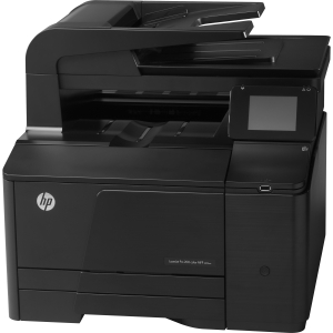 HP Color LaserJet Pro 200 M276NW Multifunction Color Laser Printer 150-Sheets 14-ppm 1200dpi x 1200dpi 256MB Memory USB 2.0, LAN, Wi-Fi (Refurbished) Mfr P/N CF145A#BGJ
