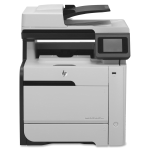 HP Color LaserJet Pro 300 M375NW Laser Multifunction Printer Color Plain Paper Print Desktop Printer , Copier, Scanner, Fax 19 ppm Mono/19 ppm Color Print 600 x 600 dpi Print 19 cpm Mono/19 cpm Color Copy Touchscreen LCD 1200 dpi Optical Scan Manual Duplex Print 300 sheets Input Fast Ethernet Wi-Fi USB (Refurbished) Mfr P/N CE903A