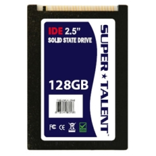Super Talent DuraDrive ET Series 128GB IDE 60/45Mbps 2.5-inch 44-Pin Commercial-Temp (SLC) Solid State Drive Mfr P/N FHD28GC25M