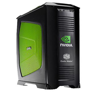 NV-830-KKN4-GP Cooler Master CM Stacker 830 nVIDIA Edition Chassis