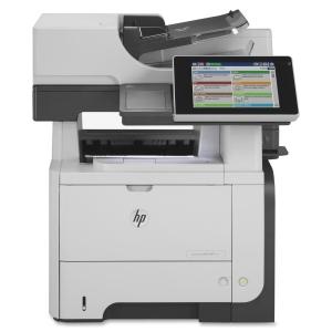 HP LaserJet 500 M525F Laser Multifunction Printer Monochrome Plain Paper Print Desktop Printer, Scanner, Copier, Fax 42 ppm Mono Print 1200 x 1200 dpi Print 42 cpm Mono Copy Touchscreen LCD 600 dpi Optical Scan Automatic Duplex Print 600 sheets Input Gigabit Ethernet USB (Refurbished) Mfr P/N CF117A
