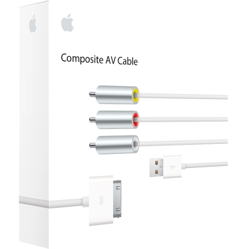 Apple MC748E/A Composite Audio/Video Cable Composite Mfr P/N MC748E/A