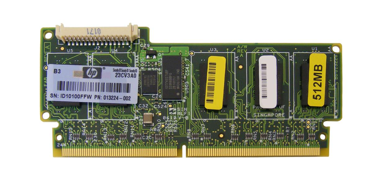 HP 512MB BBWC (Battery Backed Write Cache) Memory Module for Smart Array P212/P410/P411 Controller Mfr P/N 013224-002