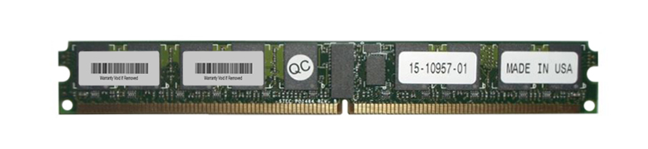 15-10957-01 Cisco 2GB PC2-5300 DDR2-667MHz ECC Registered CL5 240-Pin DIMM Very Low Profile (VLP) Memory Module