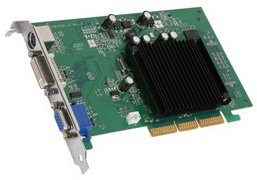 256-A8-N341-LX EVGA e-GeForce 6200 256MB DDR 64-Bit DVI-I/ S-Video/ TV-Out/ AGP 8x Video Graphics Card