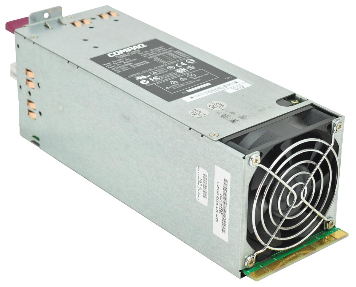 HP 500-Watts Redundant Hot Swap Power Supply with PFC for ProLiant ML350 G3 Server Mfr P/N 283655-001
