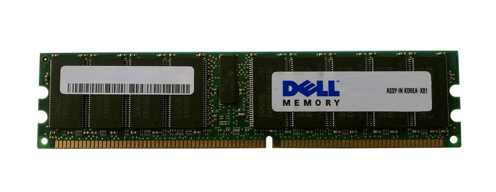 311-2694 Dell 4GB PC3200 DDR-400MHz ECC Registered CL3 184-Pin DIMM Memory Module