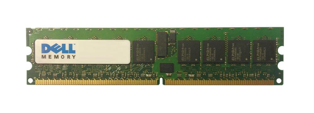 Dell 16GB Kit (16 x 1GB) PC2-3200 DDR2-400MHz ECC Registered CL3 240-Pin DIMM Single Rank Memory Mfr P/N 311-4603