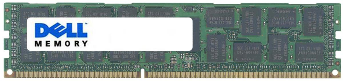 Dell 16GB PC3-12800 DDR3-1600MHz ECC Registered CL11 240-Pin DIMM Dual Rank Memory Module Mfr P/N 317-9640