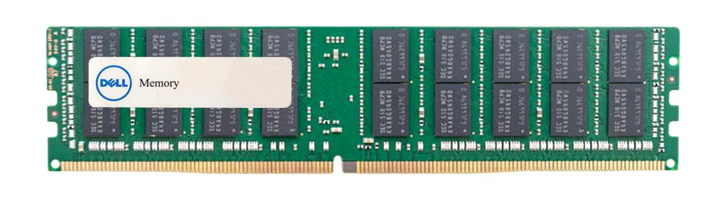 370-ACPG Dell 64GB PC4-19200 DDR4-2400MHz ECC Registered CL17 288-Pin Load Reduced DIMM 1.2V Quad Rank Memory Module