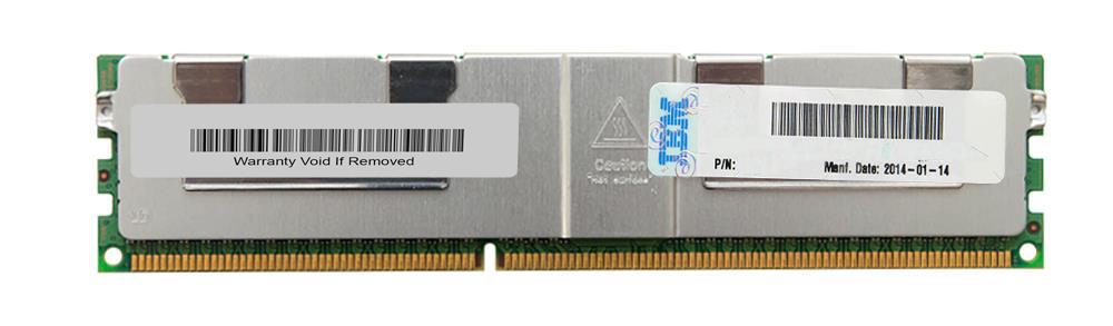 46W0760 IBM 32GB PC3-14900 DDR3-1866MHz ECC Registered CL13 240-Pin Load Reduced DIMM Quad Rank Memory Module