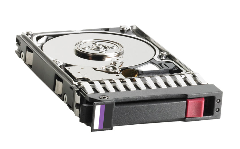 581286-B21 HP 600GB 10000RPM SAS 6Gbps Dual Port Hot Swap 2.5-inch Internal Hard Drive
