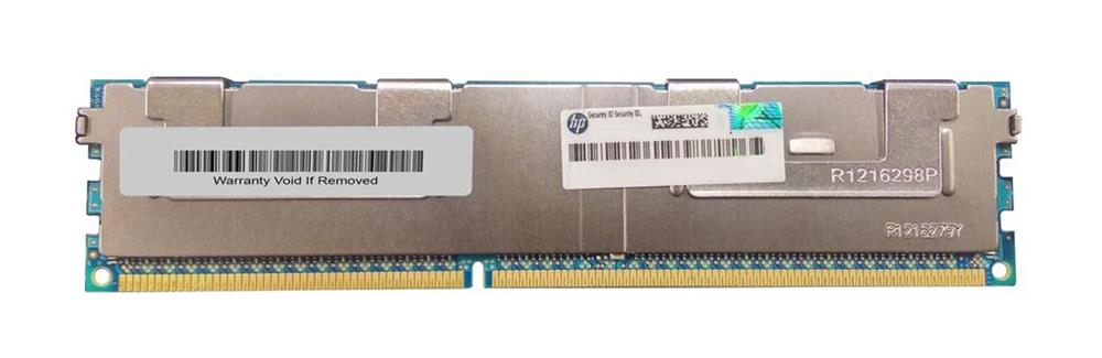700838-B21 HP 64GB PC3-12800 DDR3-1600MHz DIMM ECC Registered CL11 240-Pin Load Reduced DIMM Octa Rank Memory Module