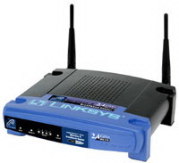 Linksys Wireless-B Broadband Router (Refurbished) Mfr P/N BEFW1154