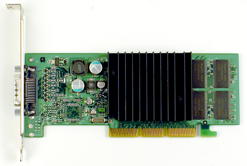 D33088 Dell Nvidia GeForce4 64MB AGP Video Graphics Card