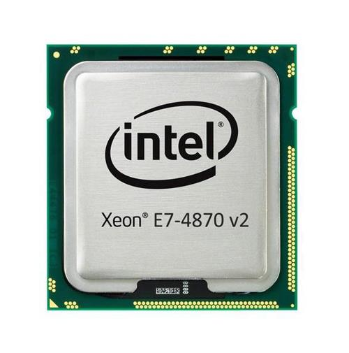 E7-4870 v2 Intel Xeon 15 Core 2.30GHz 8.00GT/s QPI 30MB L3 Cache Socket FCLGA2011 Processor