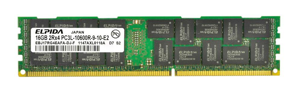 M4L Certified 16GB 1333MHz DDR3 PC3-10600 Reg ECC CL9 240-Pin Dual Rank x4 1.35V Low Voltage LRDIMM Mfr P/N M4L-PC31333LR4-16G