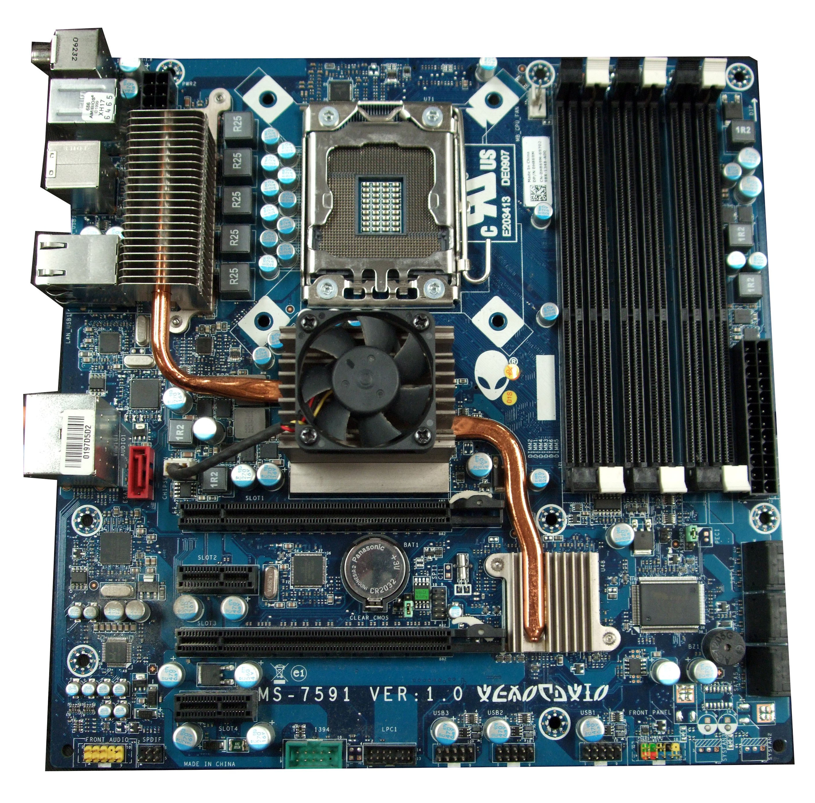 Dell  puter System Board H869m on dell xps 9000 specs