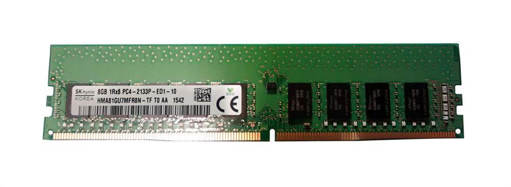M4L Certified 8GB 2133MHz DDR4 PC4-17000 ECC CL15 288-Pin Single Rank x8 DIMM Mfr P/N M4L-PC42133ED4S815D-8G