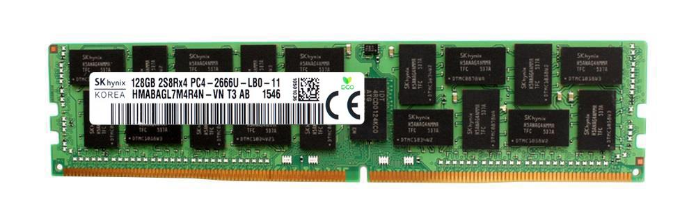 HMABAGL7M4R4N-VN Hynix 128GB PC4-21300 DDR4-2666MHz ECC Registered CL19 288-Pin Load Reduced DIMM 1.2V Octal Rank Memory Module