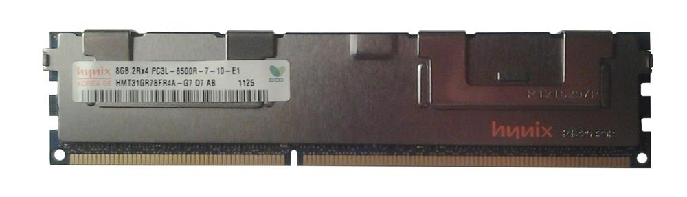 M4L Certified 8GB 1066MHz DDR3 PC3-8500 Reg ECC CL7 240-Pin Dual Rank x4 1.35V Low Voltage DIMM Mfr P/N M4L-PC31066RD3D47DL-8G