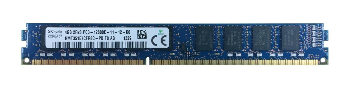 M4L Certified 4GB 1600MHz DDR3 PC3-12800 ECC CL11 240-Pin Dual Rank x8 VLP DIMM Mfr P/N M4L-PC31600ED3D811DV-4G