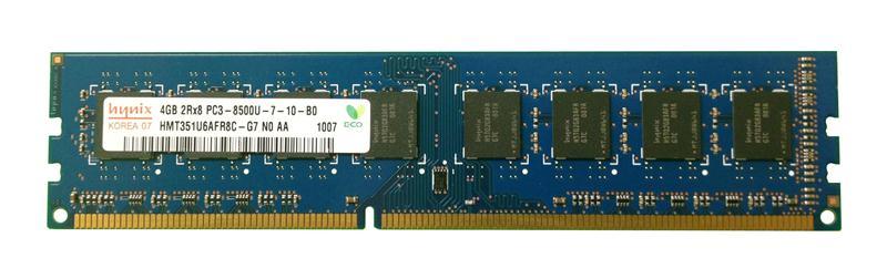 M4L Certified 4GB 1066MHz DDR3 PC3-8500 Non-ECC CL7 240-Pin Dual Rank x8 DIMM Mfr P/N M4L-PC31066D3N7-4G