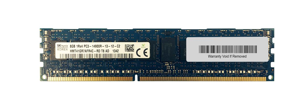 M4L Certified 8GB 1866MHz DDR3 PC3-14900 Reg ECC CL13 240-Pin Single Rank x4 DIMM Mfr P/N M4L-PC318R13S4-8