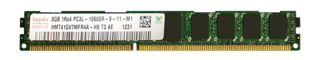 M4L Certified 8GB 1333MHz DDR3 PC3-10600 Reg ECC CL9 240-Pin Single Rank x4 VLP 1.35V Low Voltage DIMM Mfr P/N M4L-PC31333RD3S49DVL-8G