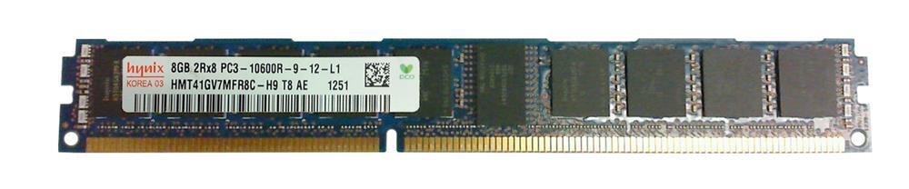 M4L Certified 8GB 1333MHz DDR3 PC3-10600 Reg ECC CL9 240-Pin Dual Rank x8 VLP DIMM Mfr P/N M4L-PC31333RD3D89DV-8G