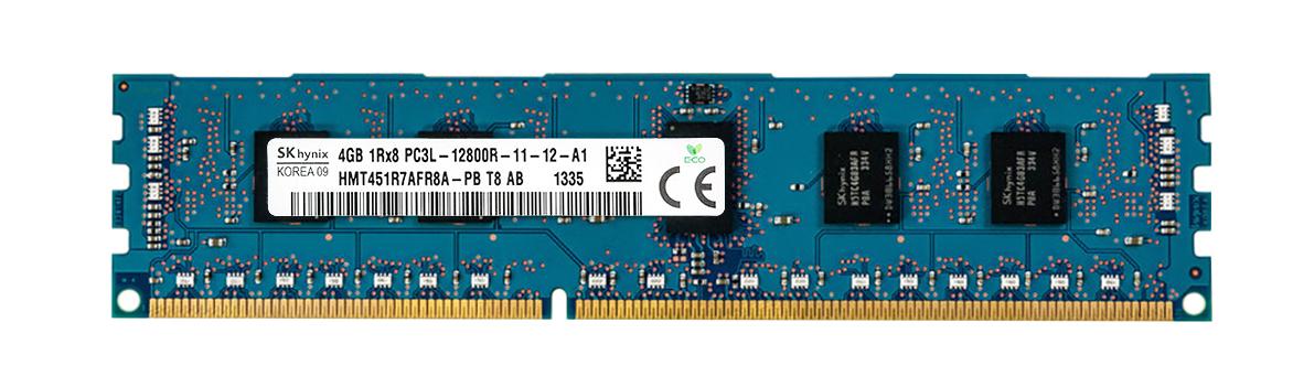 M4L Certified 4GB 1600MHz DDR3 PC3-12800 Reg ECC CL11 240-Pin Single Rank x8 1.35V Low Voltage DIMM Mfr P/N M4L-PC31600RD3S811DL-4G
