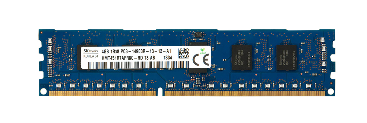 M4L Certified 4GB 1866MHz DDR3 PC3-14900 Reg ECC CL13 240-Pin Dual Rank x8 DIMM Mfr P/N M4L-PC31866RD3D814G
