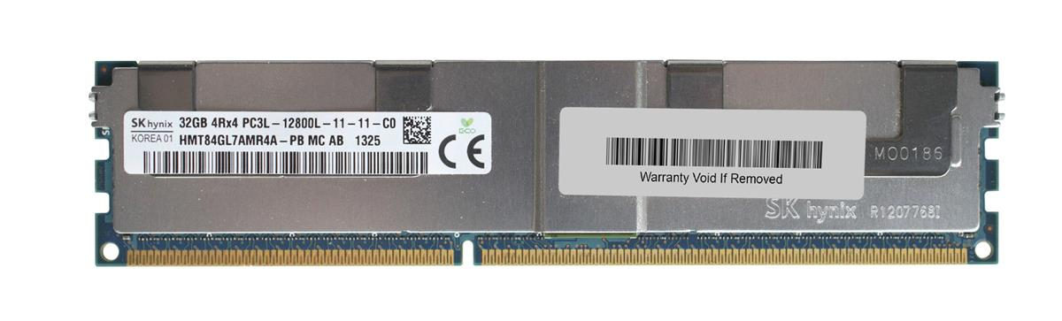 HMT84GL7AMR4A-PBMC-AB Hynix 32GB PC3-12800 DDR3-1600MHz ECC Registered CL11 240-Pin Load Reduced DIMM 1.35V Low Voltage Quad Rank Memory Module