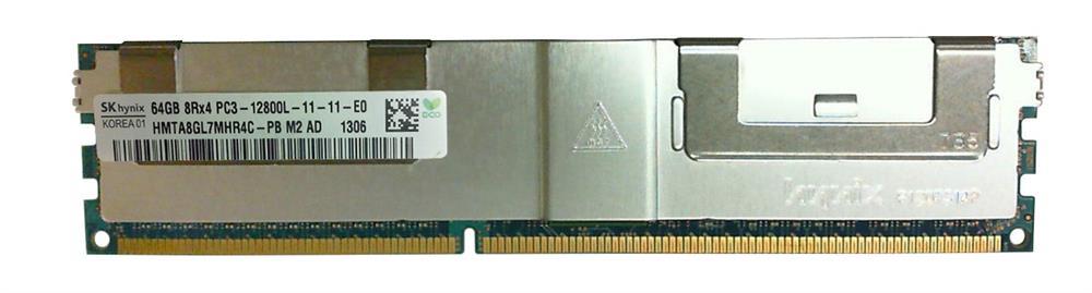 M4L Certified 64GB 1600MHz DDR3 PC3-12800 Reg ECC CL11 240-Pin Quad Rank x4 LRDIMM Mfr P/N M4L-PC31600RD3Q411LRD-64G