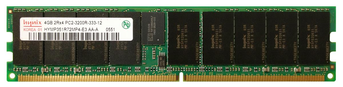 M4L-PC2400D2D4R3-4G M4L Certified 4GB 400MHz DDR2 PC2-3200 Reg ECC CL3 240-Pin Dual Rank x4 DIMM